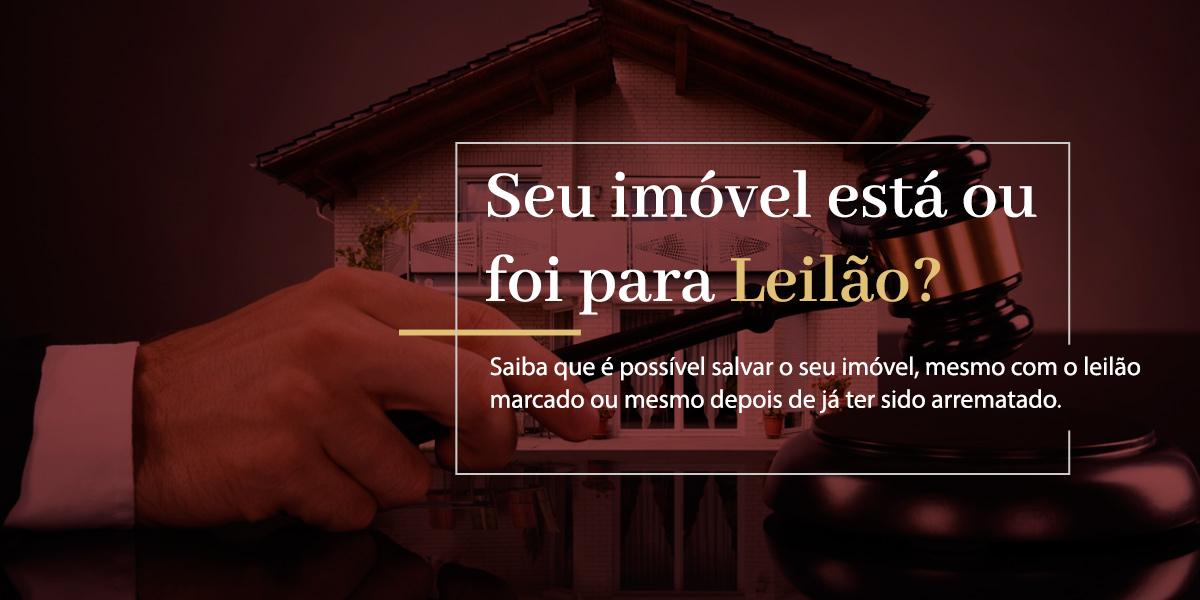 Suspensão e anulação de LEILÃO JUDICIAL E EXTRAJUDICIAL